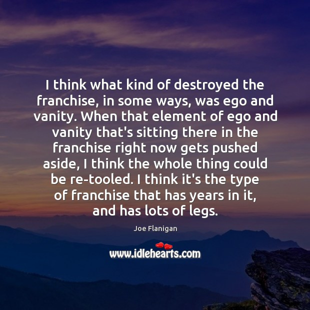 I think what kind of destroyed the franchise, in some ways, was Image