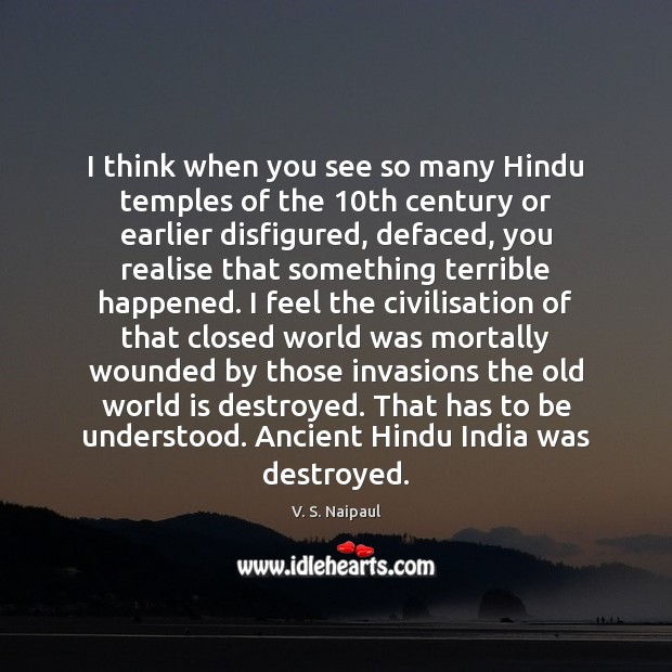 I think when you see so many Hindu temples of the 10th Image