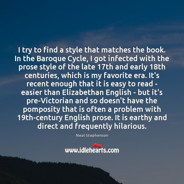 Image, I try to find a style that matches the book. In the