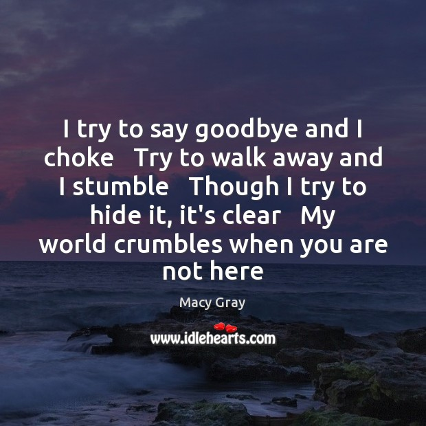 Goodbye Quotes