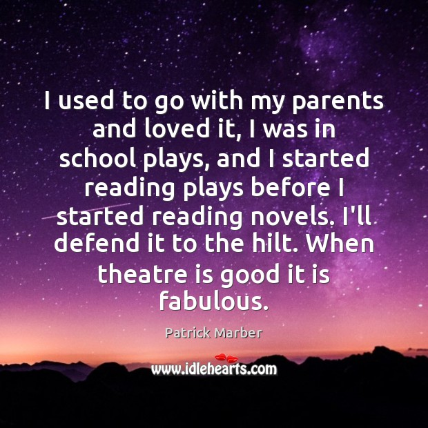 I used to go with my parents and loved it, I was Image
