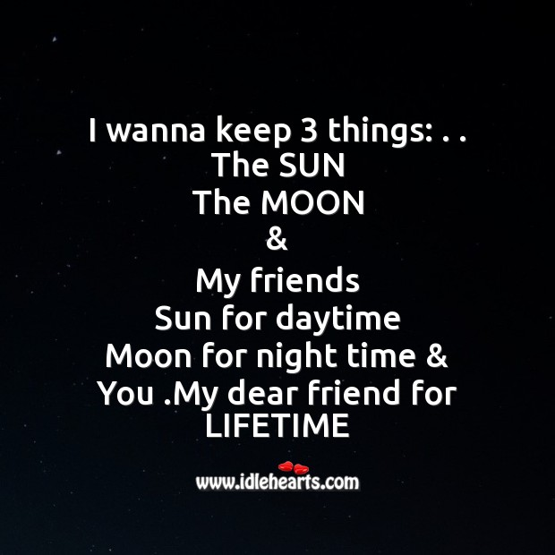 Image, I wanna keep 3 things: . .