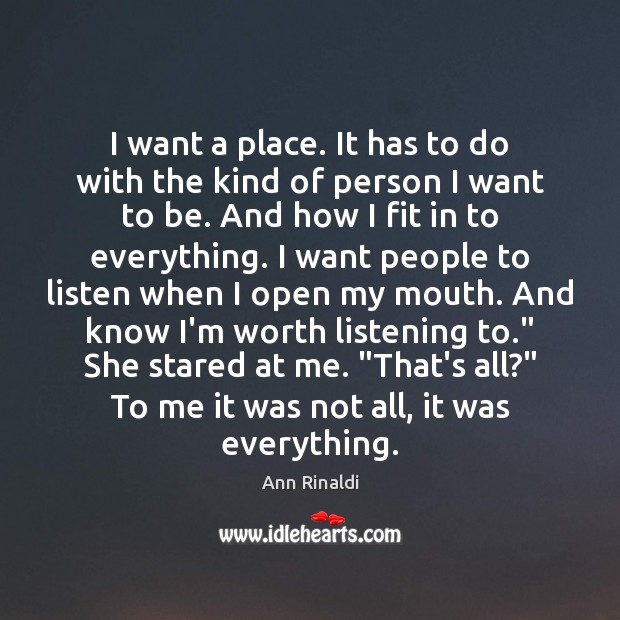I want a place. It has to do with the kind of Image
