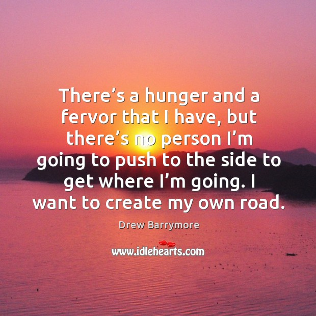 Image, I want to create my own road.