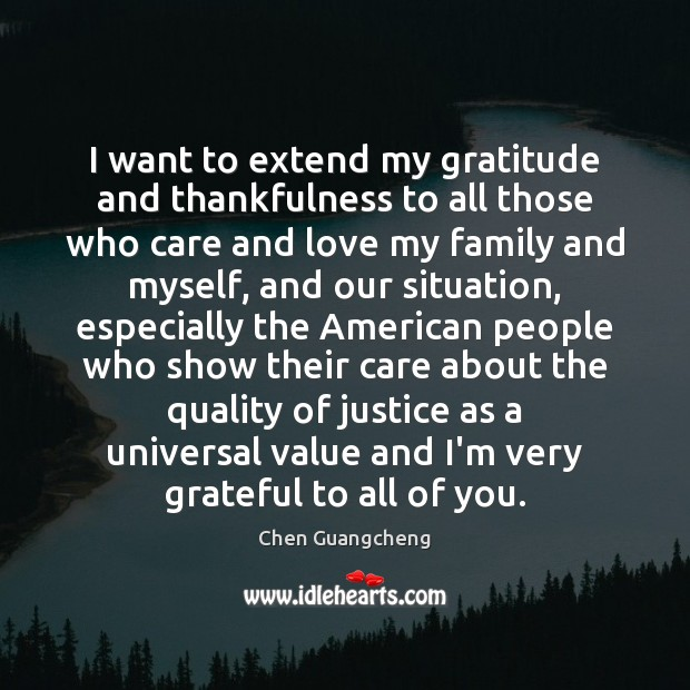 I want to extend my gratitude and thankfulness to all those who Image