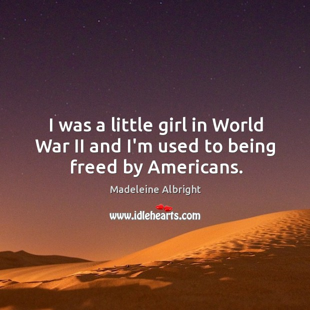 Picture Quote by Madeleine Albright