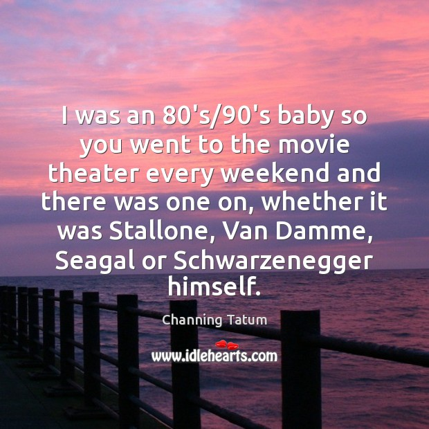 Image, I was an 80's/90's baby so you went to the movie