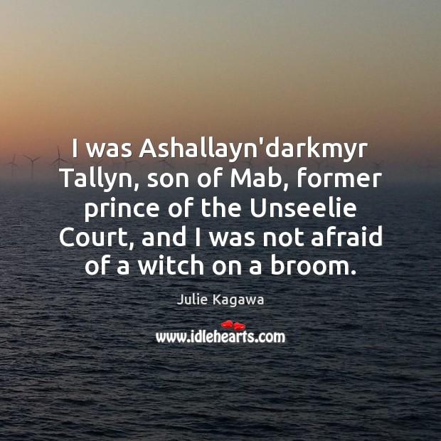 Image, I was Ashallayn'darkmyr Tallyn, son of Mab, former prince of the Unseelie