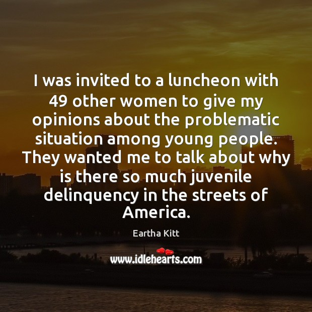 I was invited to a luncheon with 49 other women to give my Image