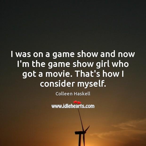 I was on a game show and now I'm the game show Image