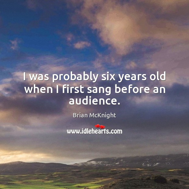 Picture Quote by Brian McKnight