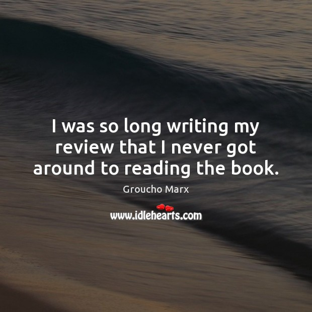 I was so long writing my review that I never got around to reading the book. Image