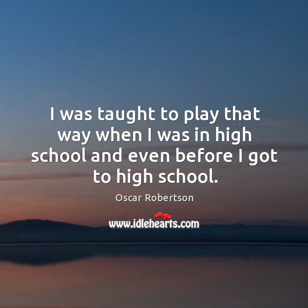 I was taught to play that way when I was in high school and even before I got to high school. Image