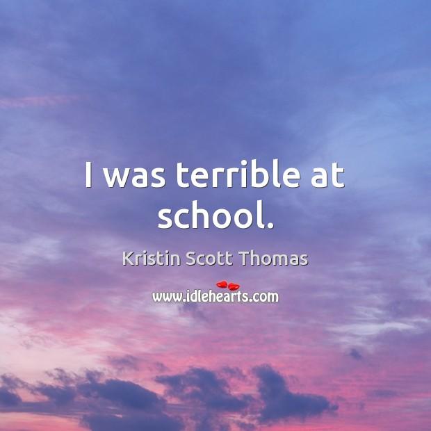 Picture Quote by Kristin Scott Thomas
