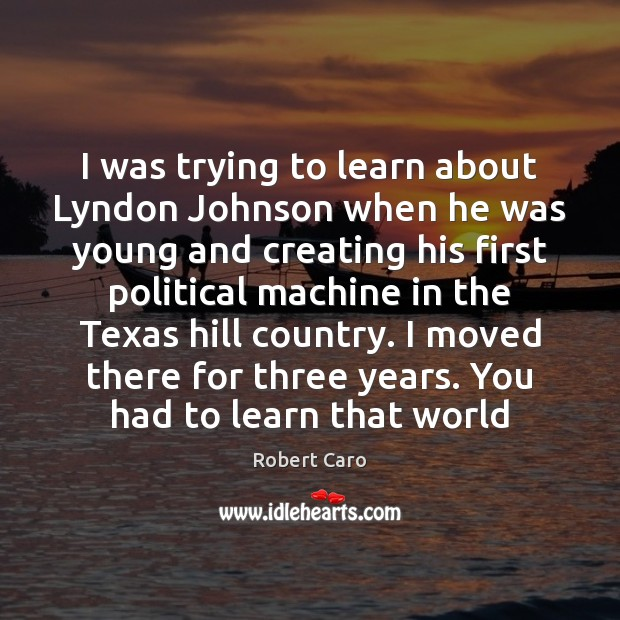 Image, I was trying to learn about Lyndon Johnson when he was young