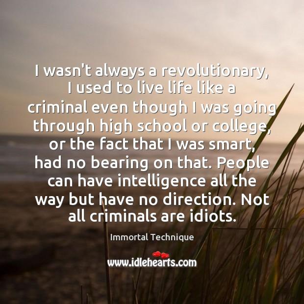 Image, I wasn't always a revolutionary, I used to live life like a