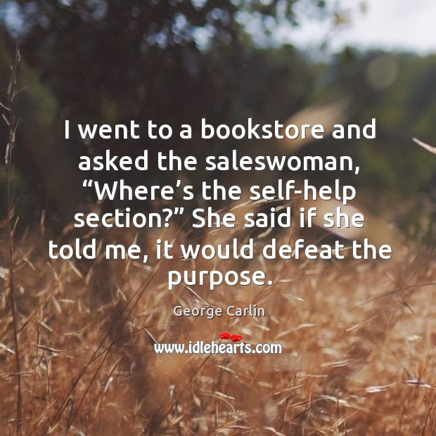 I went to a bookstore and asked the saleswoman Image