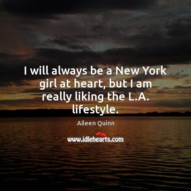 I will always be a New York girl at heart, but I am really liking the L.A. lifestyle. Image