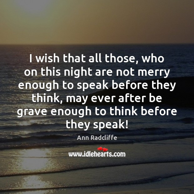 Image, I wish that all those, who on this night are not merry