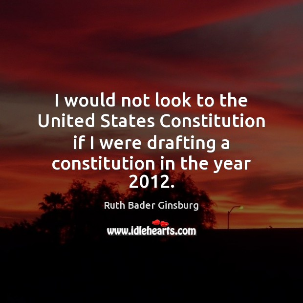 Picture Quote by Ruth Bader Ginsburg