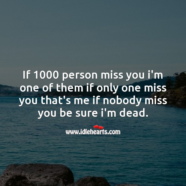 Missing You Messages