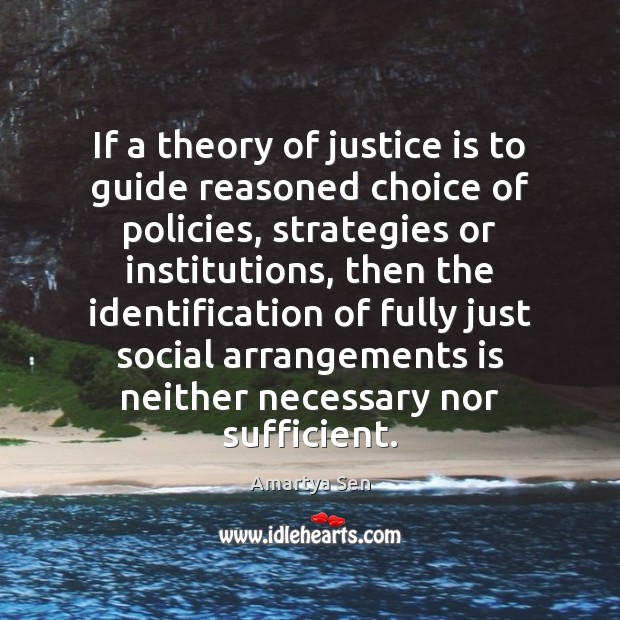 Picture Quote by Amartya Sen