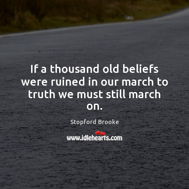 Picture Quote by Stopford Brooke