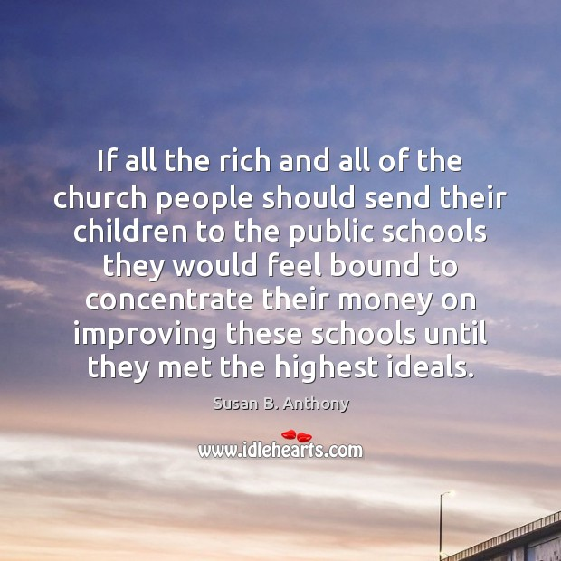 Image, If all the rich and all of the church people should send