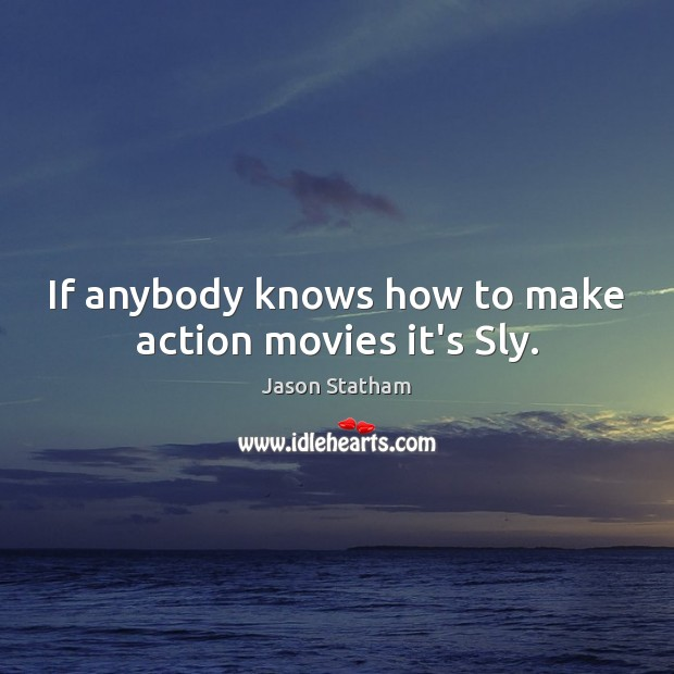 If anybody knows how to make action movies it's Sly. Image