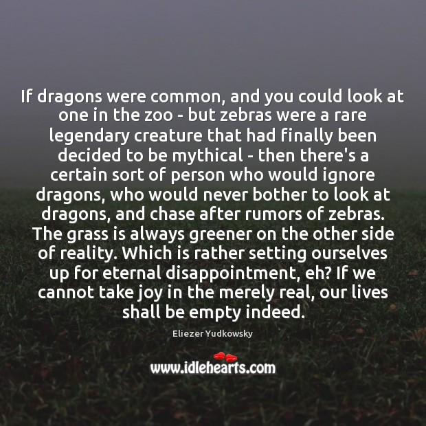Image, If dragons were common, and you could look at one in the