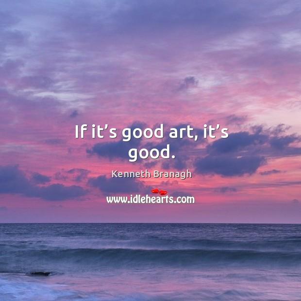 Image, If it's good art, it's good.