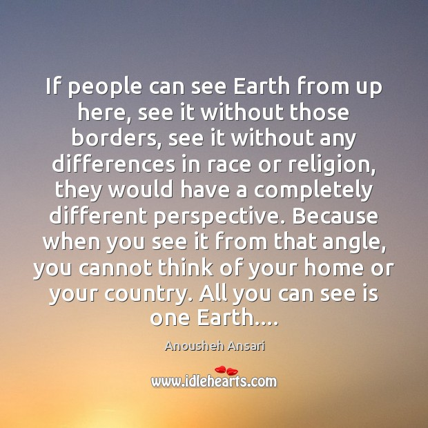 Image, If people can see Earth from up here, see it without those