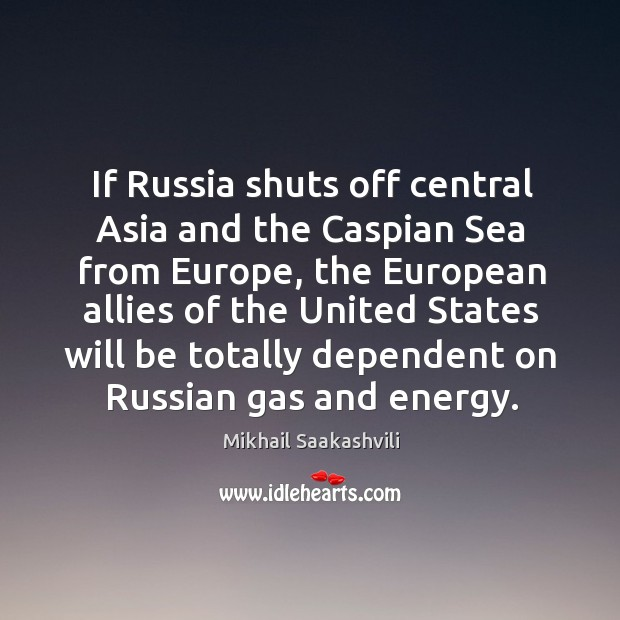 If Russia shuts off central Asia and the Caspian Sea from Europe, Image