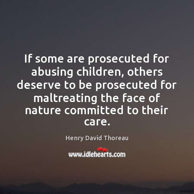 Image, If some are prosecuted for abusing children, others deserve to be prosecuted