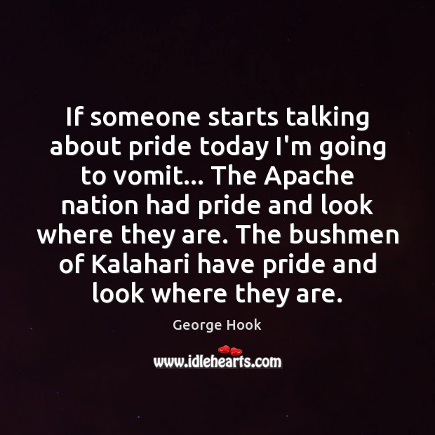 Image, If someone starts talking about pride today I'm going to vomit… The