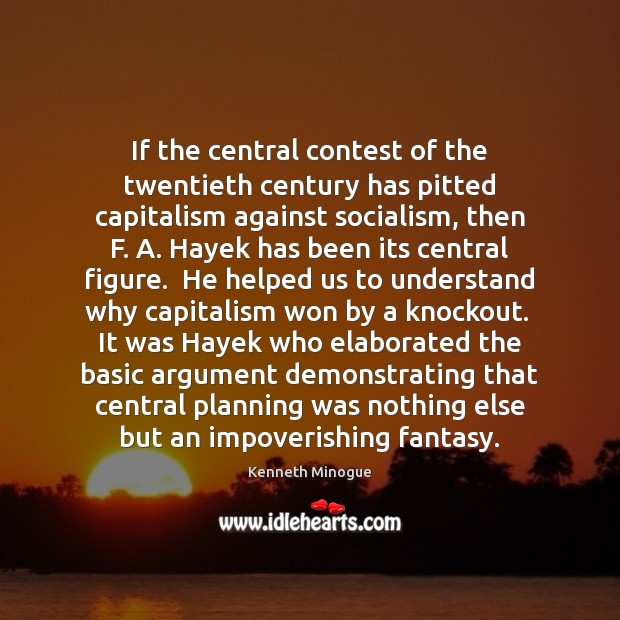 If the central contest of the twentieth century has pitted capitalism against Image