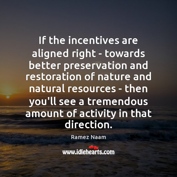 Image, If the incentives are aligned right – towards better preservation and restoration