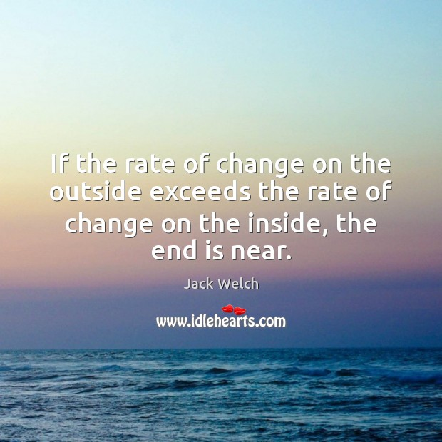 Image, If the rate of change on the outside exceeds the rate of
