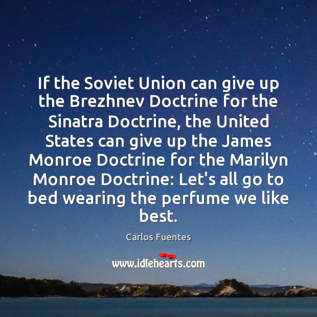 Image, If the Soviet Union can give up the Brezhnev Doctrine for the