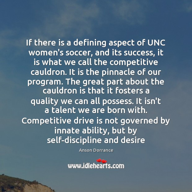 Image, If there is a defining aspect of UNC women's soccer, and its