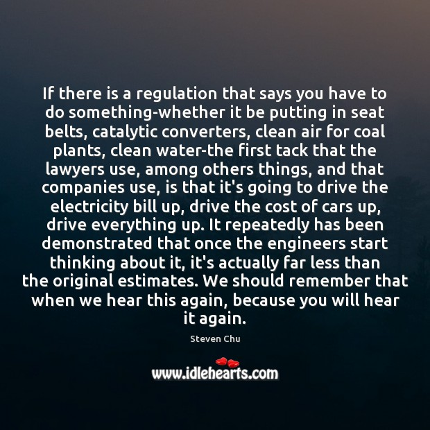 If there is a regulation that says you have to do something-whether Image