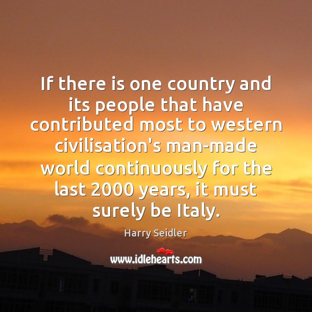 If there is one country and its people that have contributed most Image
