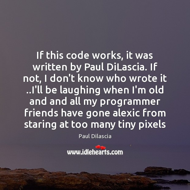 If this code works, it was written by Paul DiLascia. If not, Image