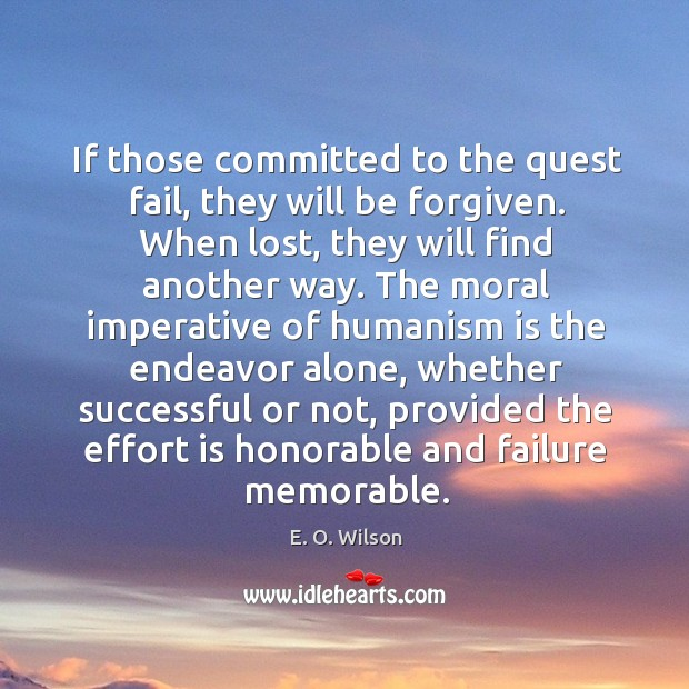 If those committed to the quest fail, they will be forgiven. Image