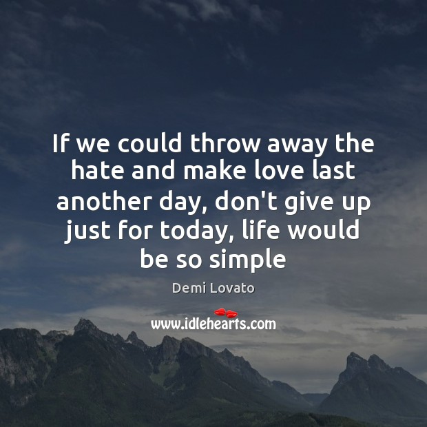 Don't Give Up Quotes Image