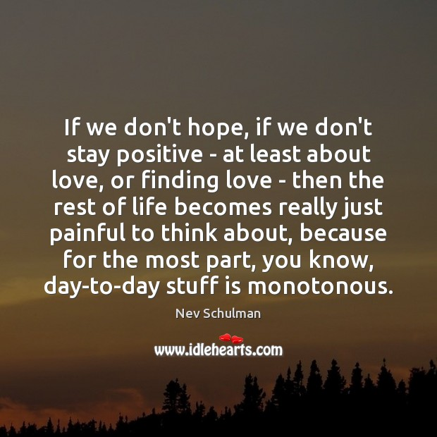 Stay Positive Quotes Image