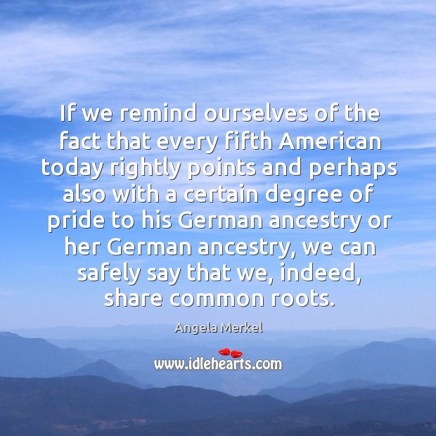 If we remind ourselves of the fact that every fifth american today rightly points and Image