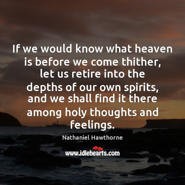 Picture Quote by Nathaniel Hawthorne