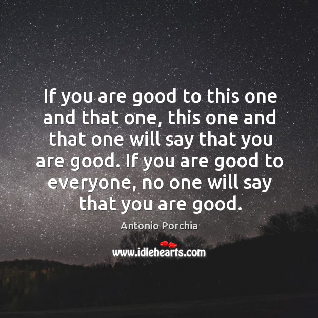 If you are good to this one and that one, this one and that one will say that you are good. Image