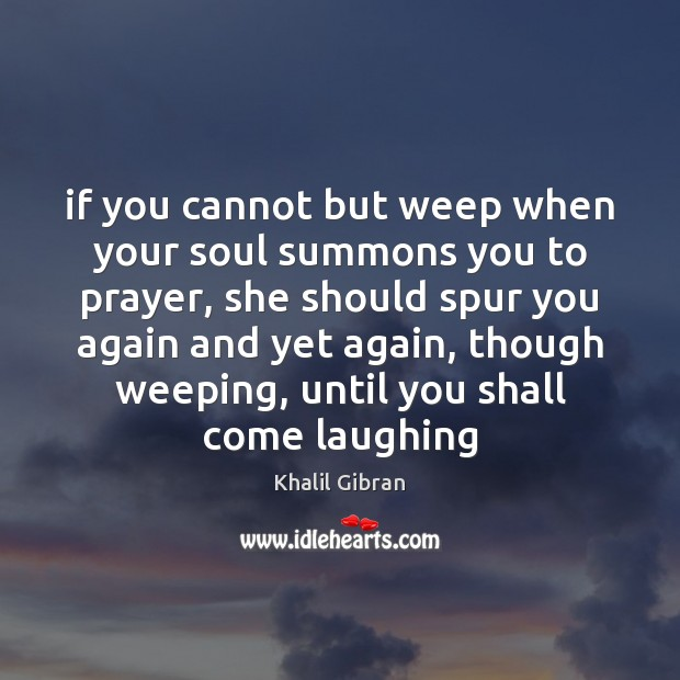 Picture Quote by Khalil Gibran